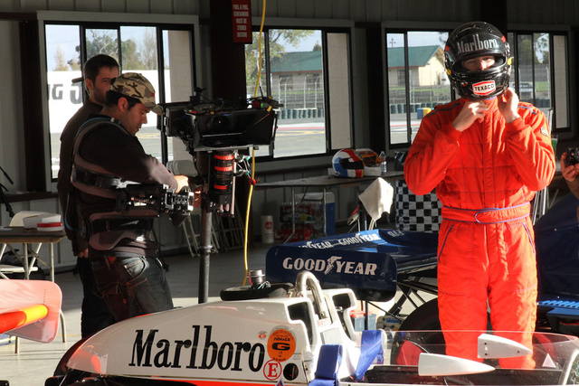 Shooting Formula 1 in 3D, the sequel