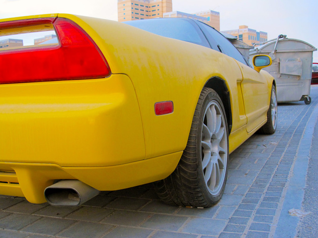 Why was this Acura NSX left to die in Dubai?