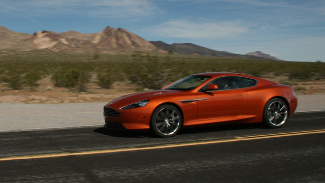 Aston Martin Virage Coupe Gallery