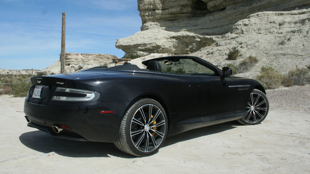 Aston Martin Virage Convertible Gallery