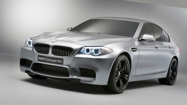 The 2012 BMW M5 is a twin-turbo V8-powered rocket