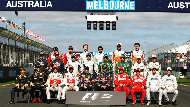 Pictures from the 2011 Australian Grand Prix