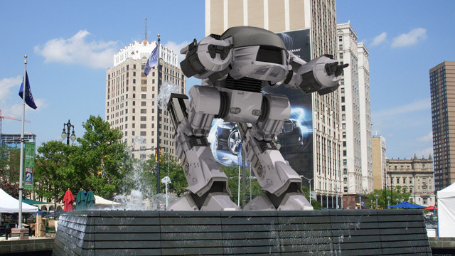 Vote for ED-209 as Detroit's next statue