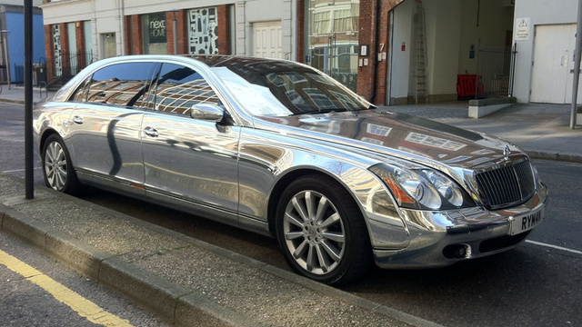 Your chromed Maybach awaits