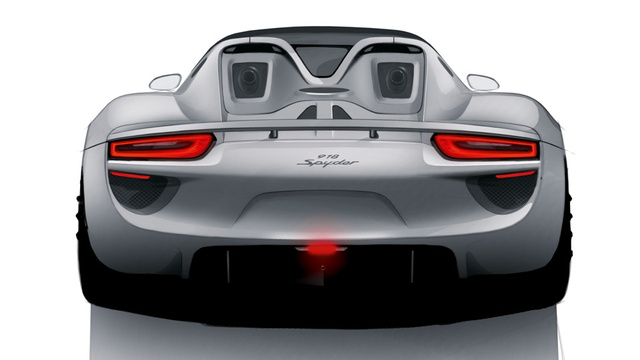 The Porsche 918 Spyder is now a plug-in hybrid reality