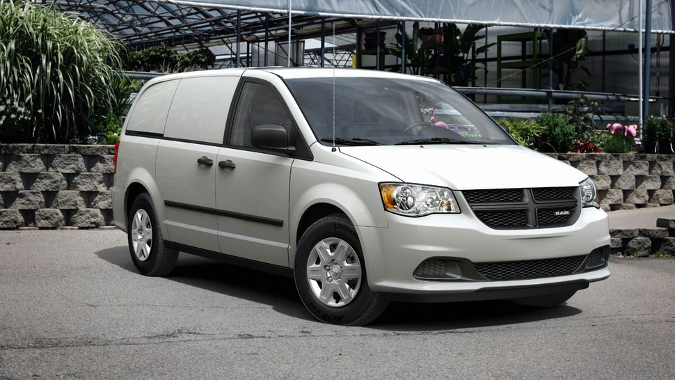 Chrysler turns minivan into Ram Cargo Van