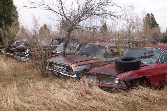 Inside the 1,000-car Texas graveyard