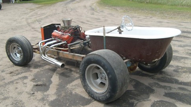 Bathtub hot rod on Ebay
