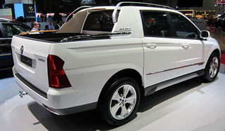 Ssangyong SUT 1 Concept is another truck too snooty for America