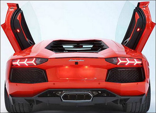 Lamborghini Aventador LP700-4: First Look