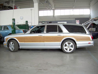 "Bentley Arnage ""woody"" wagon for sale in Italy"