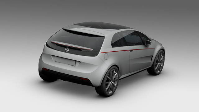Italdesign Giugiaro Volkswagen Golf Concept: Leaked Photos