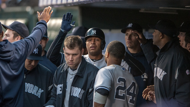 Joe Girardi Batted His Pitcher Eighth And Had Vernon Wells Play…