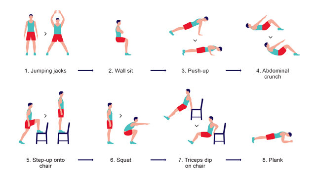 This Seven-Minute, Research-Based Workout Exercises Your