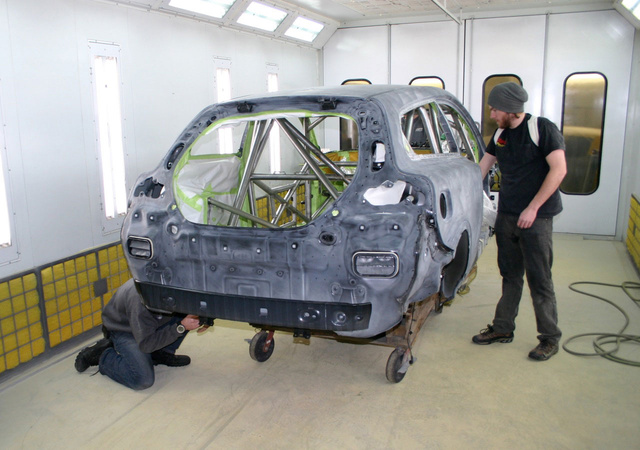 Volvo C30 Race Car: Week Four