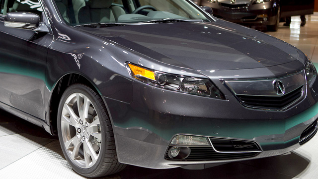2012 Acura TL: First Photos
