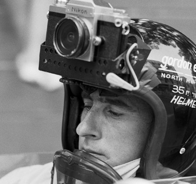The mystery behind the helmet cam