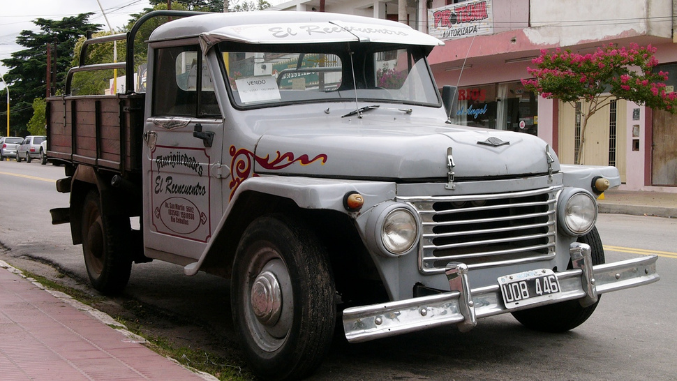 Argentina's beloved artisan pickup trucks