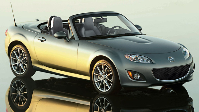 2011 Mazda MX-5 Special Edition's a shiny silver goody bag
