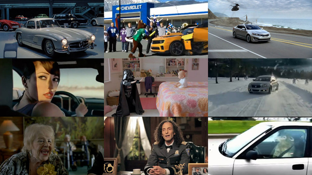 The Super Bowl car commercial super guide