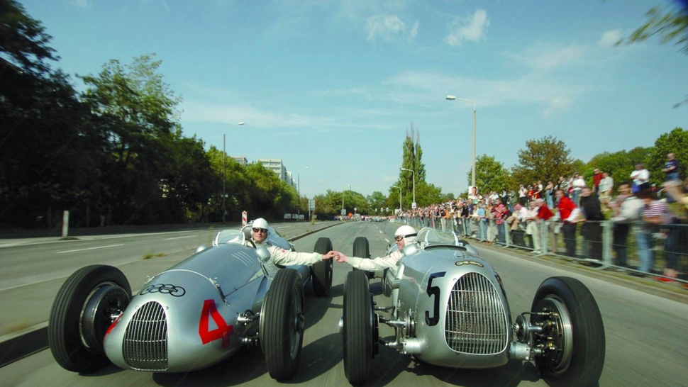 Silver Arrows In Flight