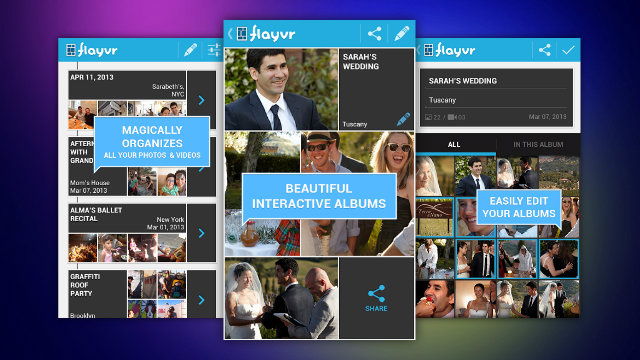 Flayvr Automatically Sorts Your Photos ...