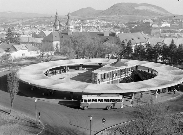 The UFO Bus Terminal of Hungary