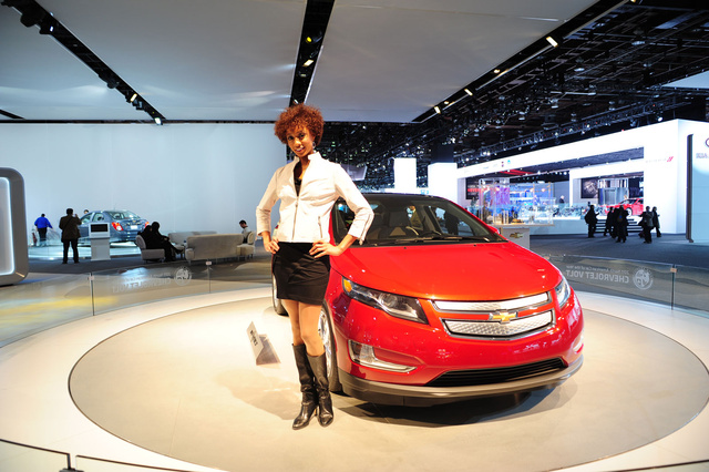 The Booth Professionals Of The Detroit Auto Show