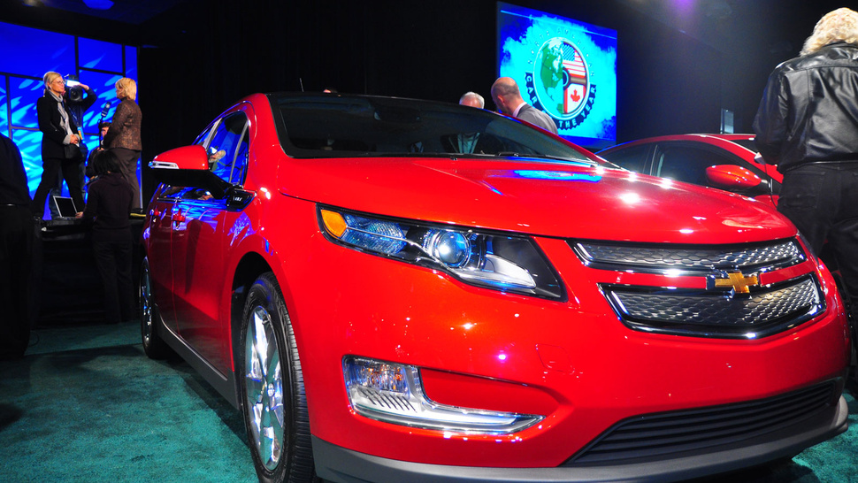 Volt, Explorer Win North American Cars Of The Year