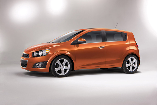 The 2012 Chevrolet Sonic is Not Kidding