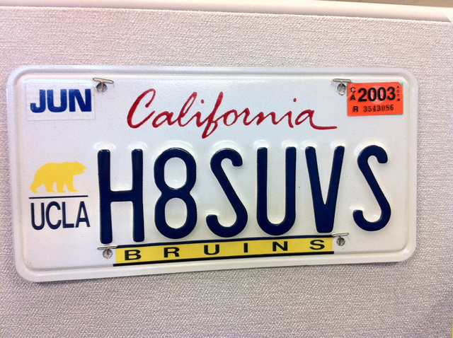 12 More Funny License Plates That Slipped By The DMV