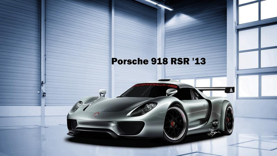 Porsche To Debut Race-Ready 918 Coupe in Detroit