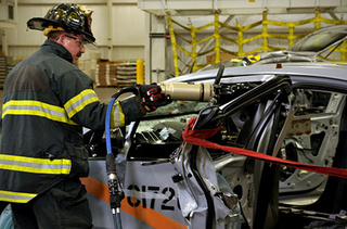 First Chevy Volt Destroyed In Crash