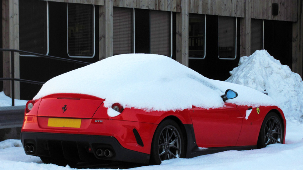 This Is Why You Park Your Ferrari In A Garage