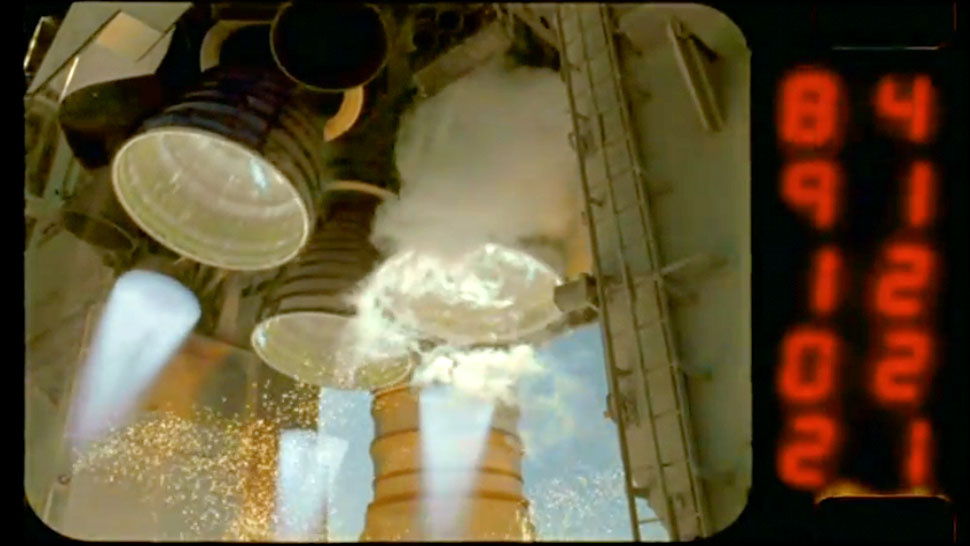 A Space Shuttle Launch In Amazing HD Slow Motion