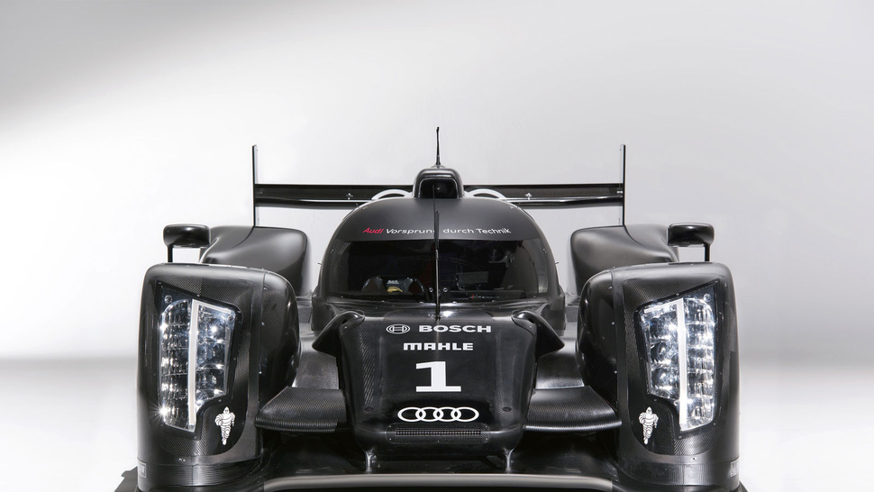 Audi R18 Le Mans Prototype Slams The Roof