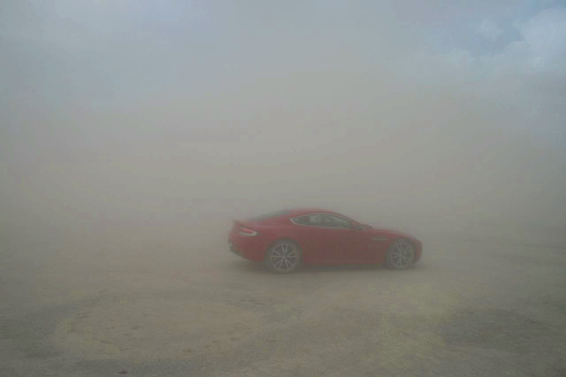 Riding Shotgun Through A Sandstorm With Top Gear