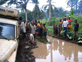 Driving Across The Congo: Overland Pictures