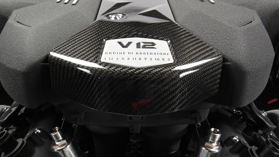 I Am Lamborghini's New Beating V12 Heart