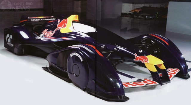 The Red Bull X1 Comes To Life, Sheds A Little Awesome