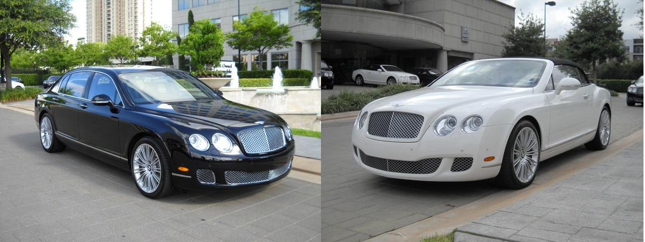 Buying A Pair of Bentleys? Don't Forget Your Fake $500,000 Check
