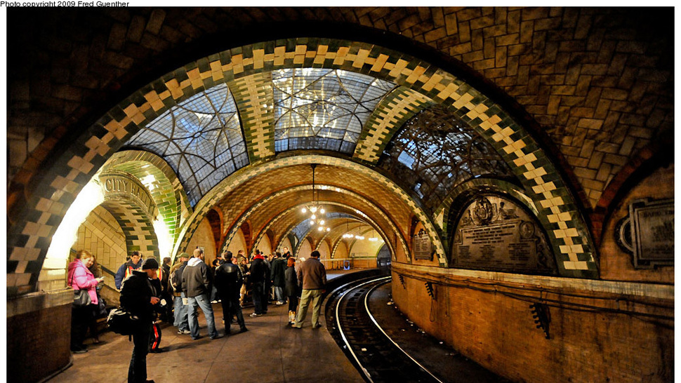 New York Subway City Hall Station: Photos