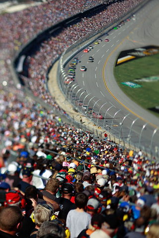 NASCAR Through Tilt-Shift Lenses