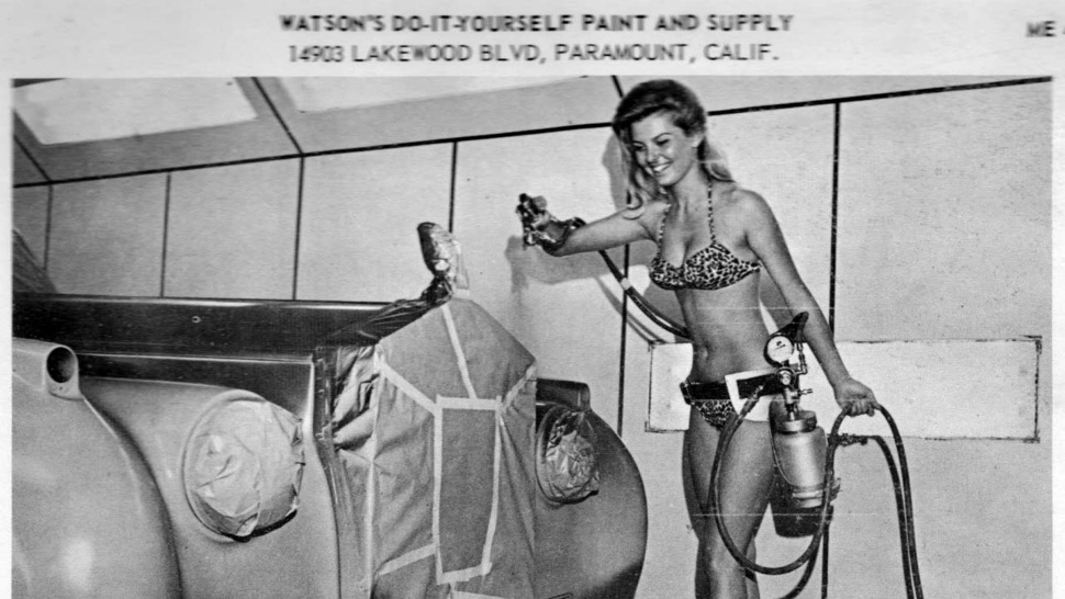 The Sexiest Paint Supply Ad Ever