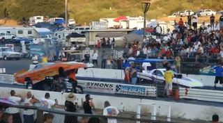 Man-Eating Dragster Swallows Driver's Son