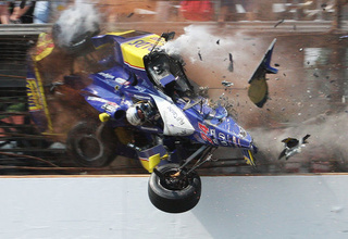 The Ten Most Infamous Crashes In Racing