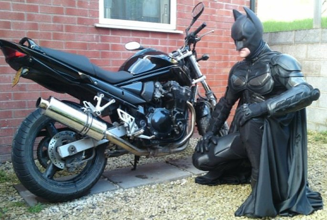 Batman Motorcycle Leathers