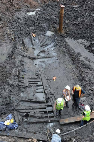 200-Year-Old Ship Discovered At Ground Zero