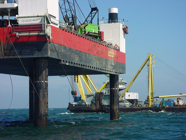 MV Tricolor Salvage Prep Work