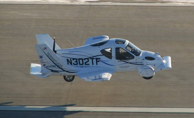 Terrafugia Flying Car Gets FAA Approval